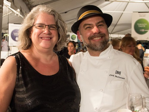 Lex & Chris at Toronto Taste 2013