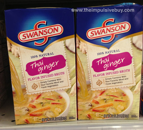 Swanson Thai Ginger Flavor Infused Broth