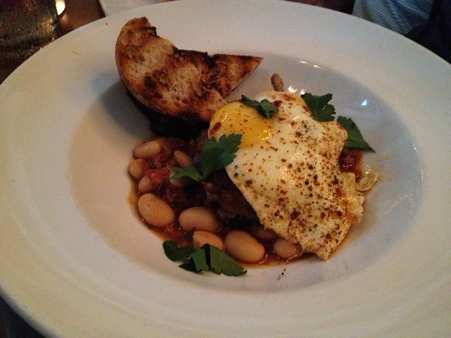 Crispy duck leg cassoulet - Town Hall