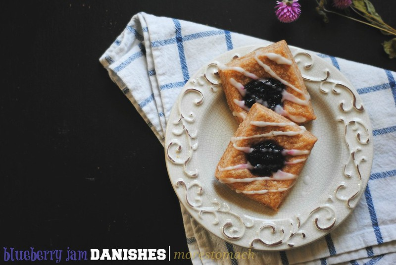 Blueberry Jam Danishes