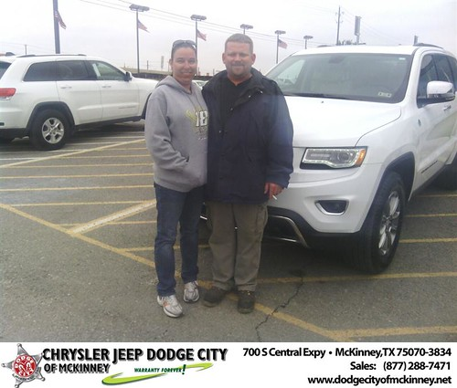 Thank you to Geoffery Webb on your new 2014 #Jeep #Grand Cherokee from Tomas Martinez and everyone at Dodge City of McKinney! #NewCar by Dodge City McKinney Texas