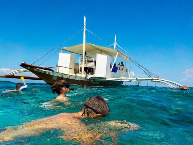 Snorkel en Balicasag