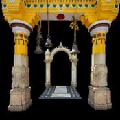 India - Uttar Pradesh - Mathura - Kesava Deo Temple - Detail - 23e.