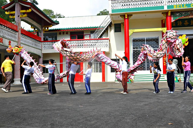 Lion Dance Trainees