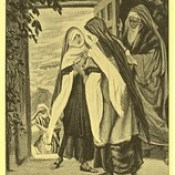 """James Tissot Bible c 1900 The Visitation from """"La Vie de Notre Seigneur Jésus Christ"""