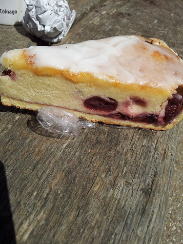 Bakewell tart from Peaslake village stores by South Downs MTB Skills