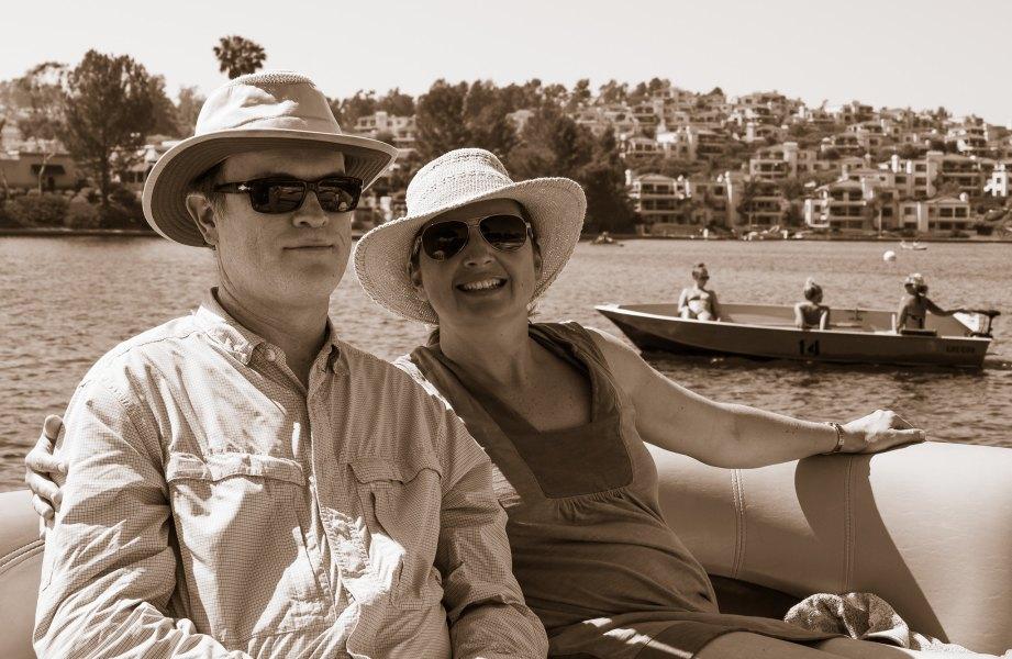 Shaven Cobus and Maureen