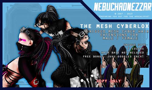 The Mesh Cyberlox Unisex