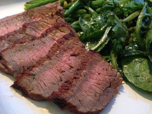 Marinated steak on twothirtyate.com