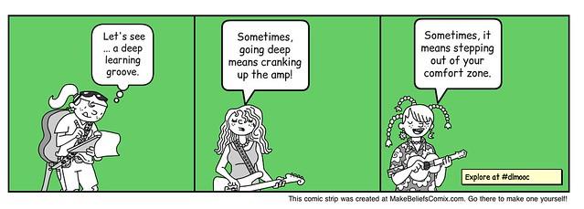 Deep Learning MOOC comic