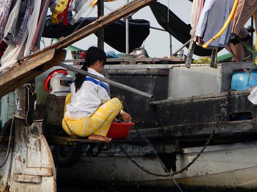 Mekong Floating Market Mekong River