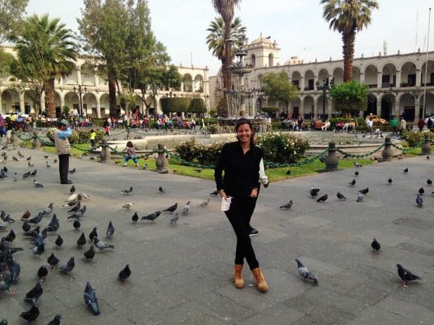 Arequipa y Plaza de Armas