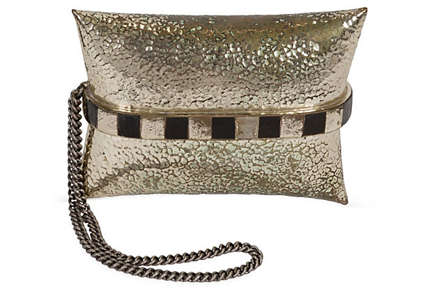 Art Deco Metal Clutch