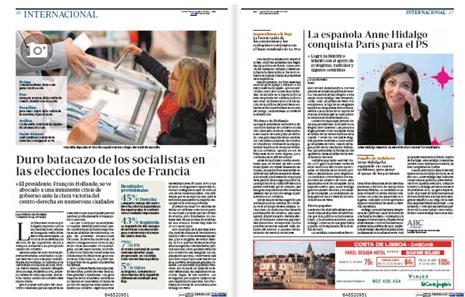 14c31Municipales Batacazo PS Triunfo UMP Anne Hidalgo alcaldesa París