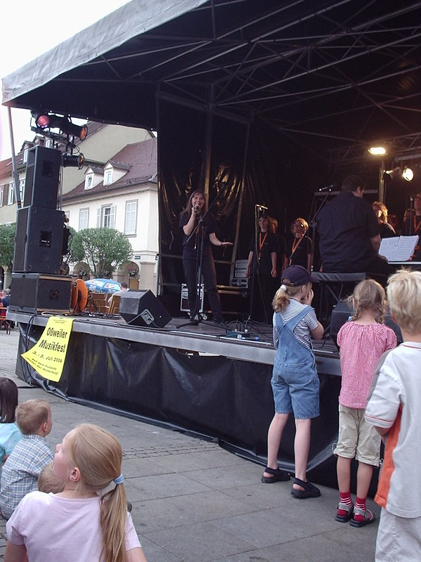 Abensterne Marktplatzfest 2004 003