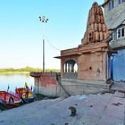 India - Uttar Pradesh - Mathura - Riverside - 120.