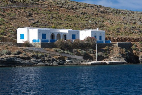 This is Greece - White Houses - Blue Windows