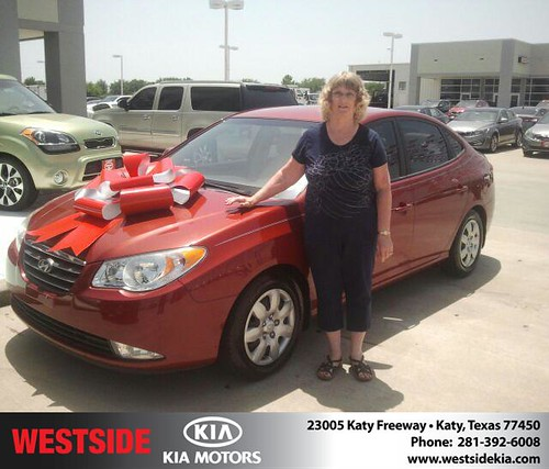 Thank you to Linda Mcgregor on the 2008 Hyundai Elantra from Gil Guzman and everyone at Westside Kia! by Westside KIA