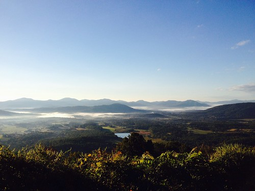 Morning ride to the Blue Ridge Pkwy.