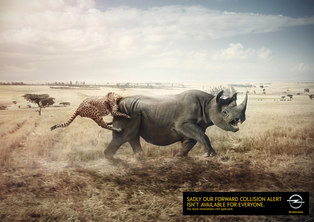 Opel - In the Ass of a Rhino