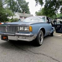 Class:  Of Course!  Custom 1985 Pontiac Parisienne at the 2014 River Edge Car Show
