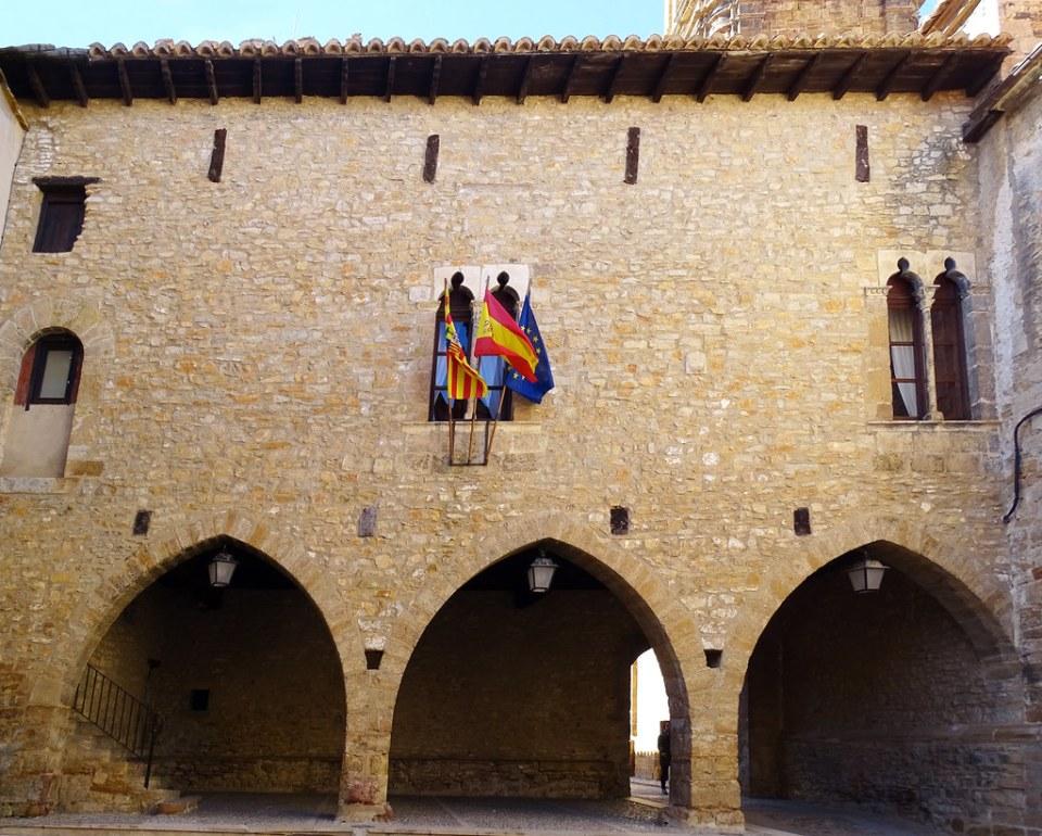 Ayuntamiento La Iglesuela del Cid Comarca del Maestrazgo Teruel 01