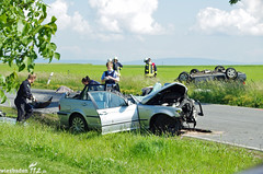 Tödl. Verkehrsunfall L414 Wörrstadt 31.05.14
