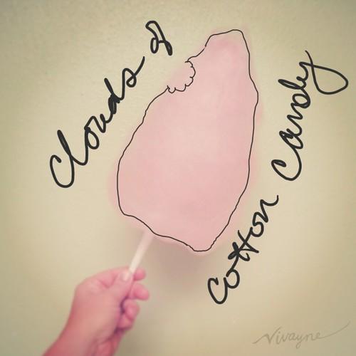 Vivayne, cotton candy, make memories, digital memories, scrapbooking