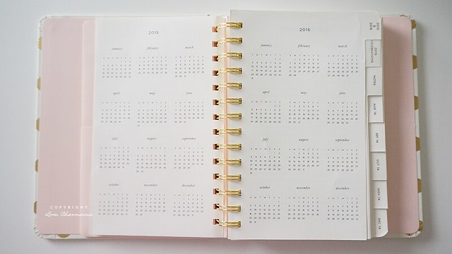 2015 Kate Spade New York Medium 17-month Agenda