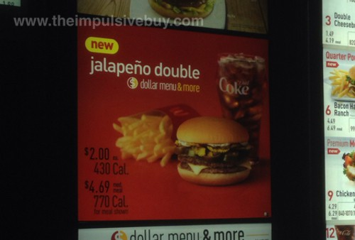 McDonald's Jalapeno Double