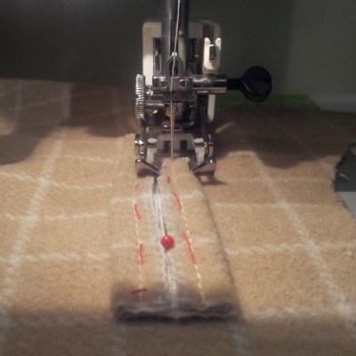 stitching the welt