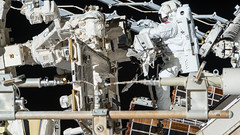 Hanging with Dextre