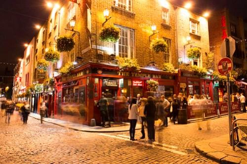 Dublin, Temple Bar atmosphere