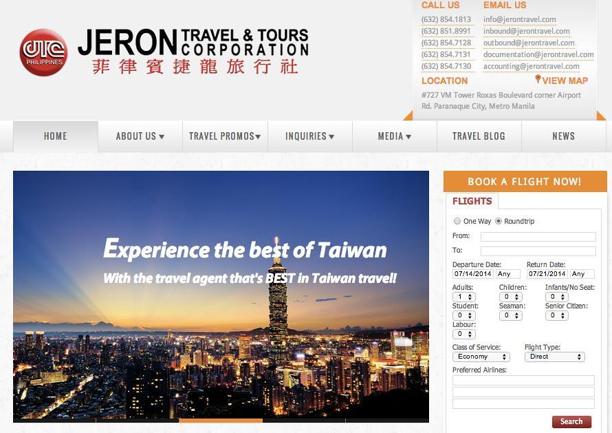 Jeron Travel