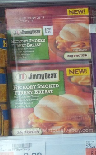 Jimmy Dean Hickory Smoked Turkey Breast Sandwich