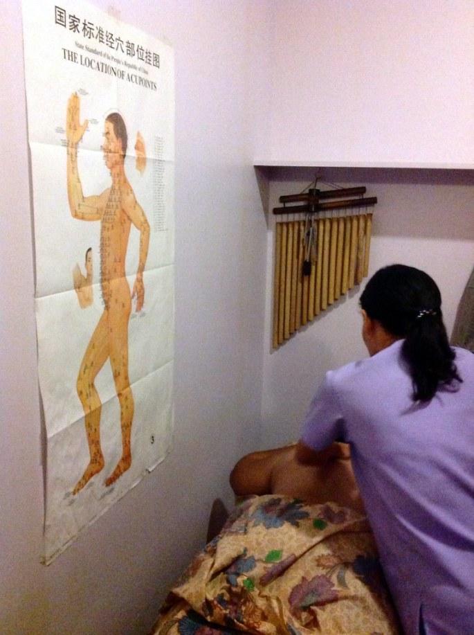 Wellness sanctuary Tui Na Chinese therapeutic massage