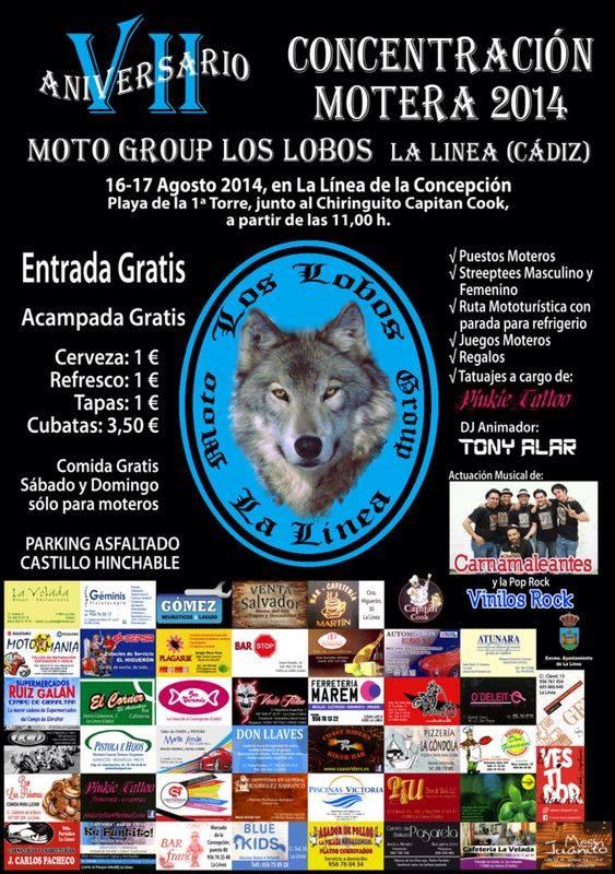 Concentración Motera Los Lobos - La Linea (Cádiz)