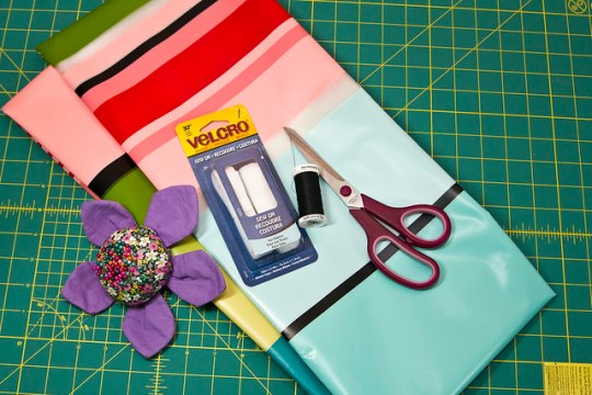 DIY Shower Curtain Wet Bag