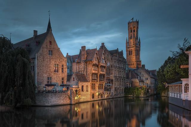 Belgium - Little Venice Corner in Bruge