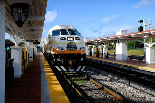 Northbound Sunrail