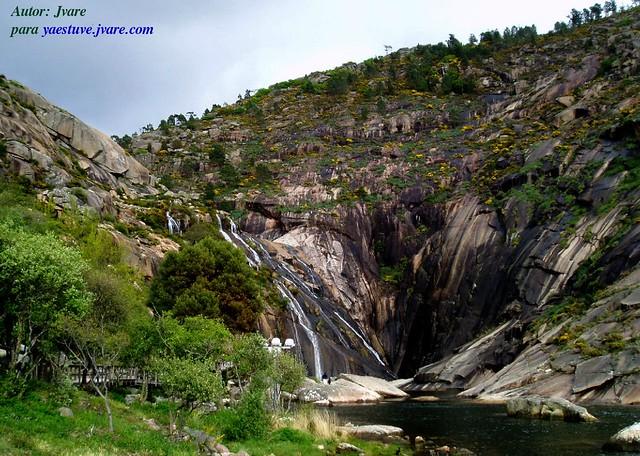 Cascada de Ezaro año 2009