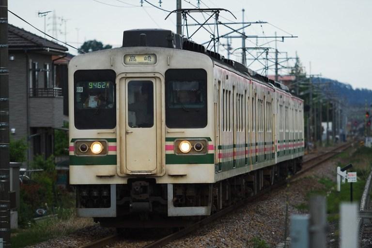 9462M 時刻変更普通列車 107系