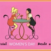 Funny Facebook Cover Happy Women's Day 2017.
