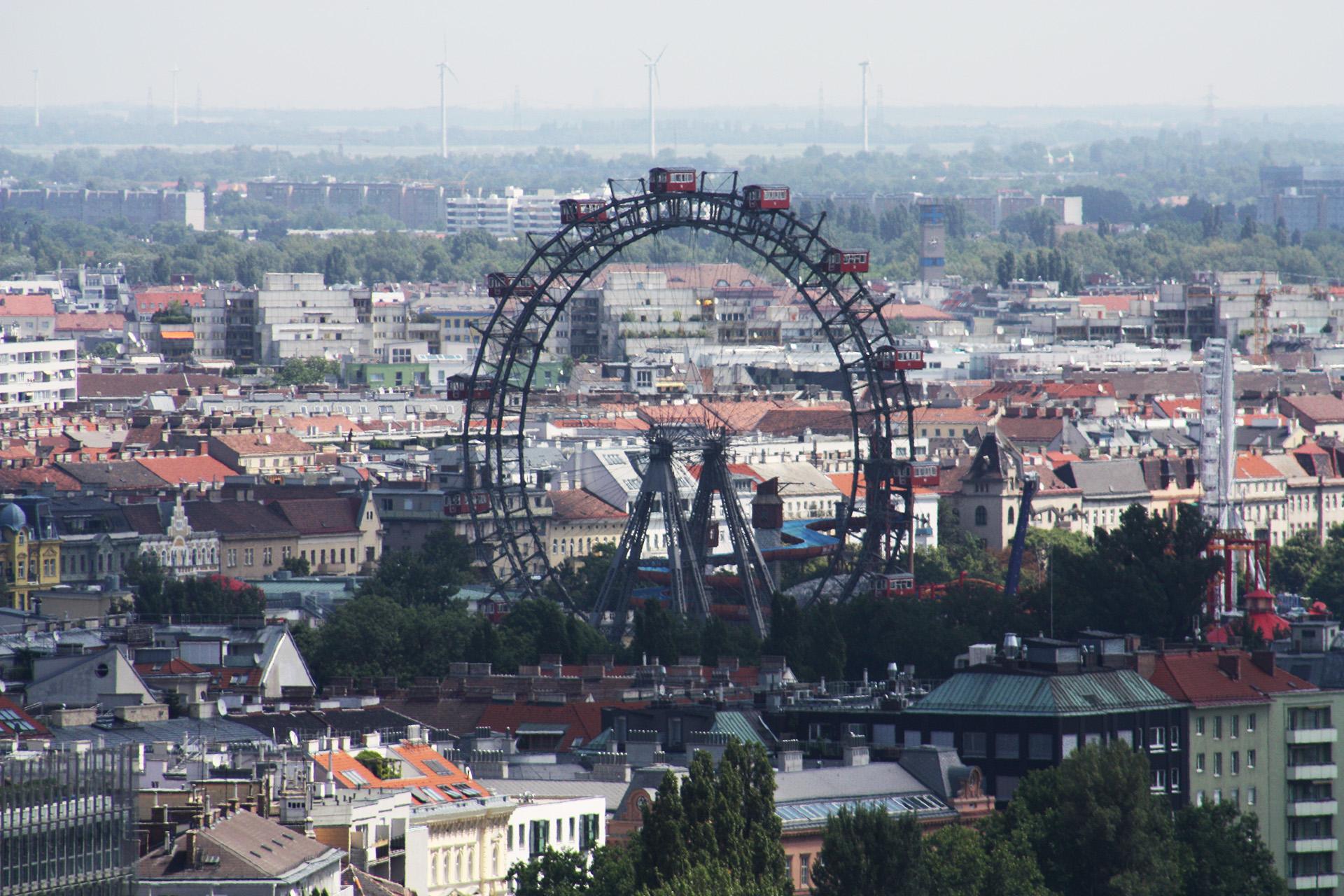 Wiener Riesenrad, Vienna.