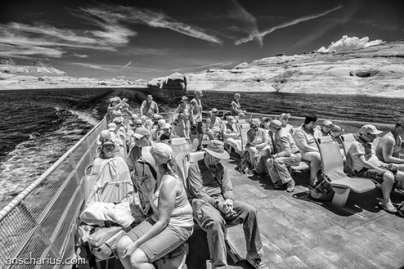 Rainbow Bridge Boat Trip #5 - Nikon 1 V1 - Infrared 700nm