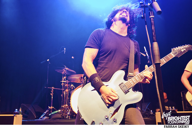 Big Tony\'s Birthday Dave Grohl Foo Fighters Brightest Young Things Farrah Skeiky 201