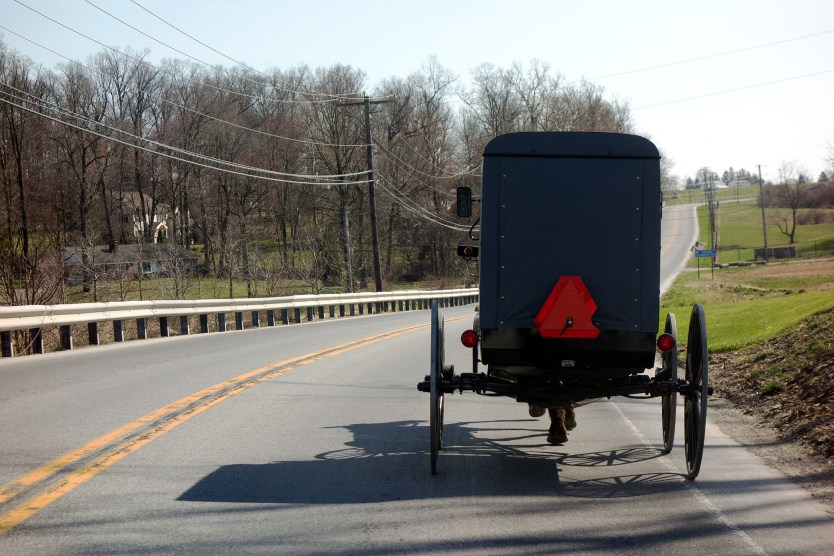 Amish carriage - Pennsylvania Dutch country.