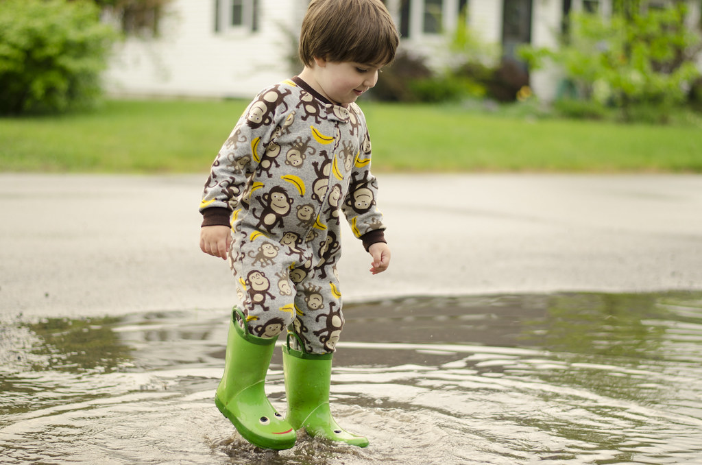 short story // puddle jumping 2