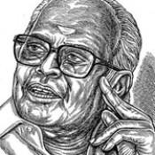 Director K.BALACHANDER In my Portrait Art - Anikartick,Chennai,tamil Nadu,India.