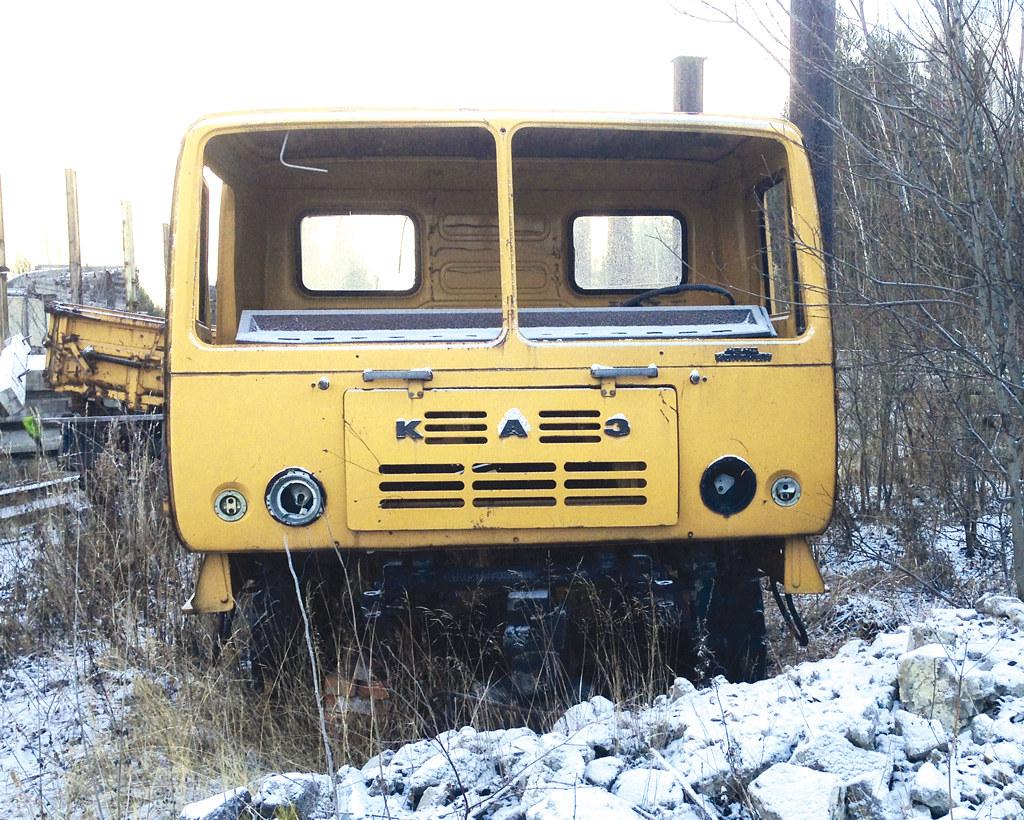 Реставраторы нашли один из сохранившихся КАЗ-4540 в таком виде